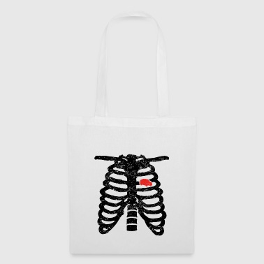 ambulancier coeur d'amour du coeur squelettique Sanita - Tote Bag