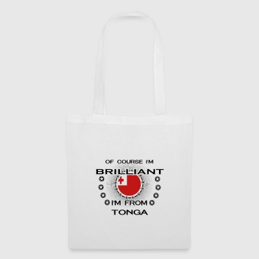JE SUIS BRILLANT GENIUS CLEVER TONGA - Tote Bag
