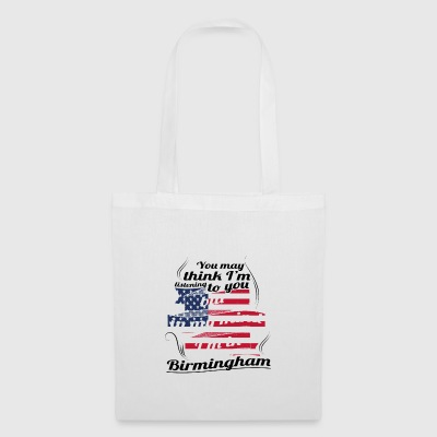 THERAPY HOLIDAY AMERICA USA TRAVEL Birmingham - Tote Bag