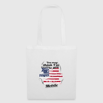 THERAPY HOLIDAY AMERICA USA TRAVEL Mobile - Tote Bag