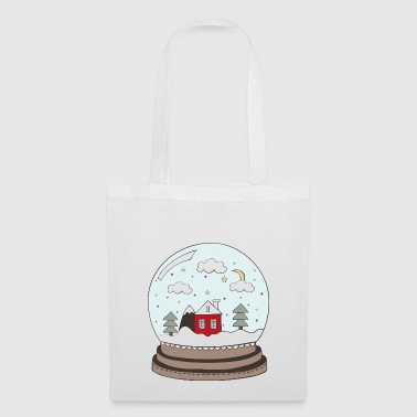 snow globe - Tote Bag