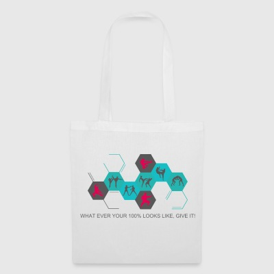 Fighting silhouettes - Tote Bag