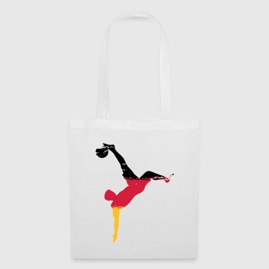 Falling Back Team Germany - Bicicle Kick - Tote Bag