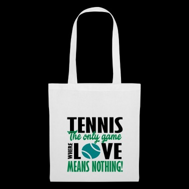 tennis the only game - Tote Bag