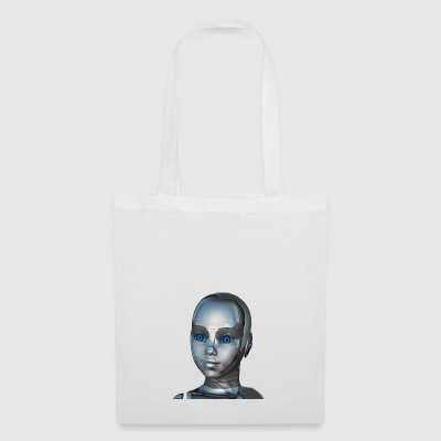 Cyborg kid - Tote Bag
