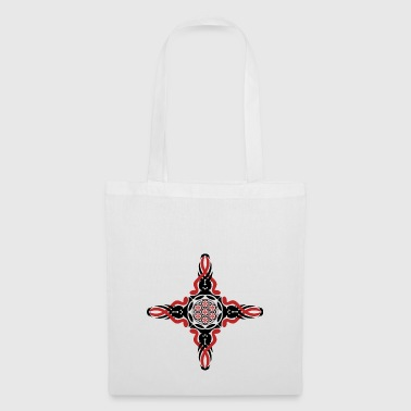 flower of tribal life - Tote Bag