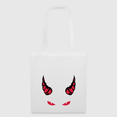 horn devil eye mocking feroce 1910 - Tote Bag