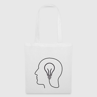 BRAIN LIGHT BULB Gift - Tote Bag