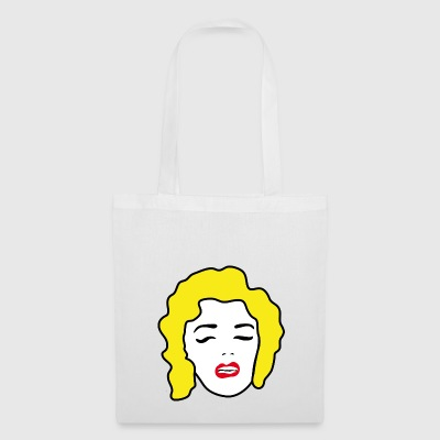 Pop Art | Art | modern | Abstract | muziek Blonde - Tas van stof