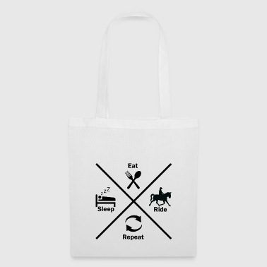 Horse riding ride horse horse geschenkidee gift - Tote Bag
