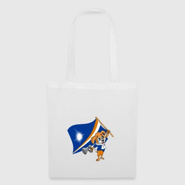 Marshall Islands fan dog - Tote Bag