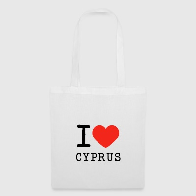 I love Cyprus - Tote Bag