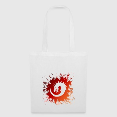 Dragon Splash Swirl - Tote Bag
