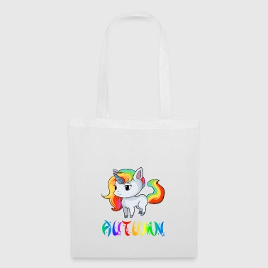Unicorn automne - Tote Bag