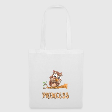 Owl princess - Tote Bag