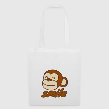 Smiling monkey - Tote Bag