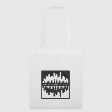 Chess Life Game Gift Idea Player Figures - Tote Bag