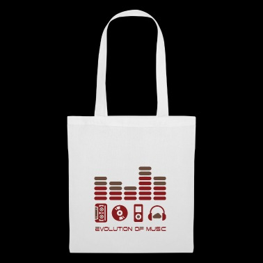 Music evolution sound - Tote Bag