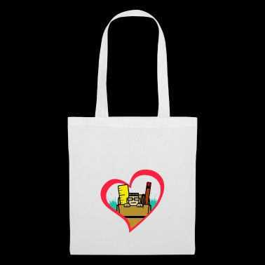 I Love Nerds with Glasses Work Bags School Bag - Tote Bag