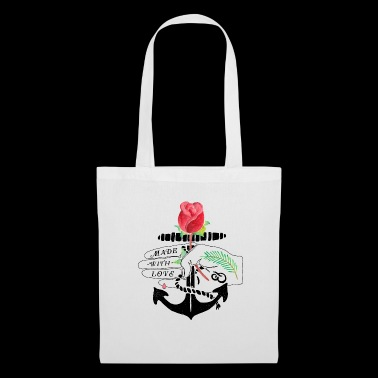 Made with Love - Anchor & Rose - Tote Bag