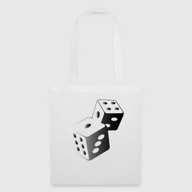 Two dice at the casino - Tote Bag