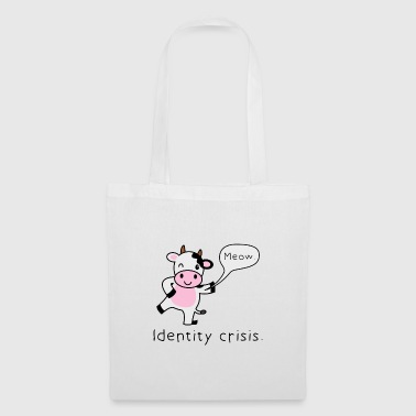Gift cow funny irony - Tote Bag