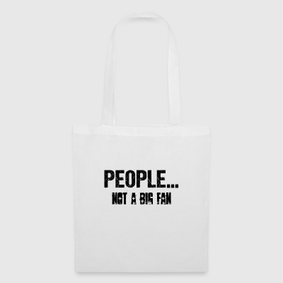 Introvert People No Big Fan Gift Narcissist - Tote Bag