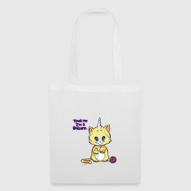 Bébé licorne Caticorne Kitty - Chat Licorne - Tote Bag