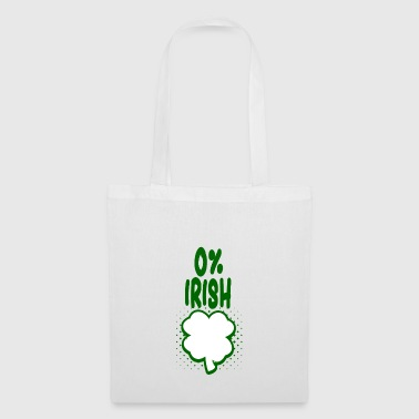 0% irlandais - T-shirt Fun - Cadeau - Tote Bag