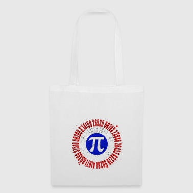 Captain Pi Superhero Shield Mathematic Symbol - Tote Bag