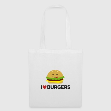 I Love Burgers - Tote Bag