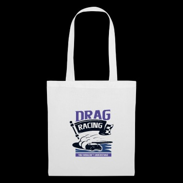Dragster acceleration race - Tote Bag