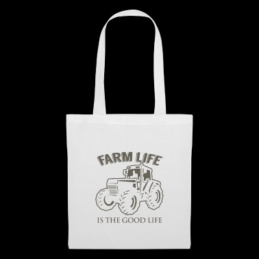 Farm Life Good Life t-shirt - Tote Bag