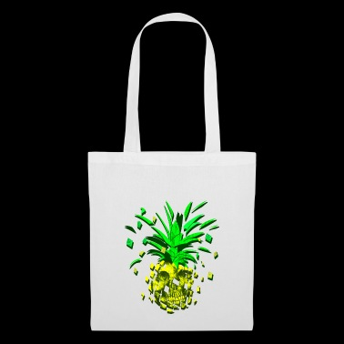 Crazy pineapple skull - Tote Bag