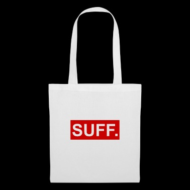 cool SUFF rouge-blanc - Tote Bag
