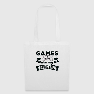 Awesome Games are My Valentine T-Shirt - Tote Bag