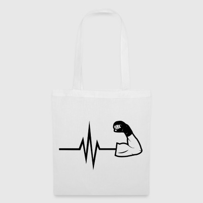 My heart beats for Martial Arts Sport Fitness Fit - Tote Bag