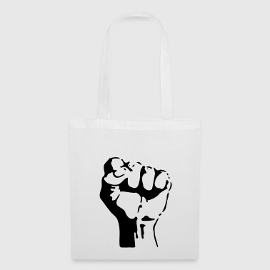 Fist stencil - Tote Bag