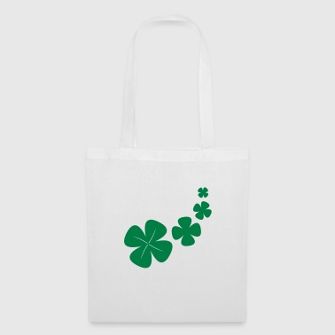Clover brings happiness - Tote Bag