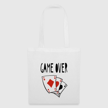 Game Over Card Game - Bingo - Poker - Gift - Tas van stof