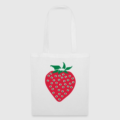 Fresa - Strawberry - Bolsa de tela