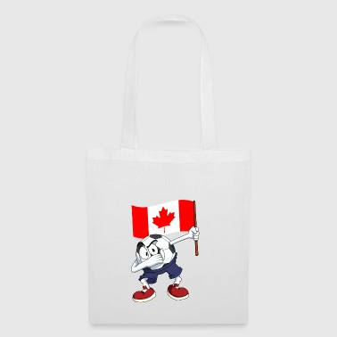 Canada tamponnant Football - Tote Bag