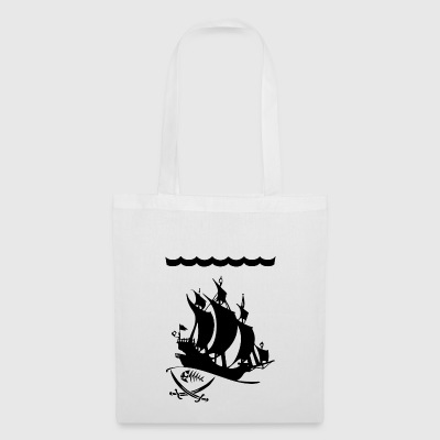 galleon blak - Tote Bag