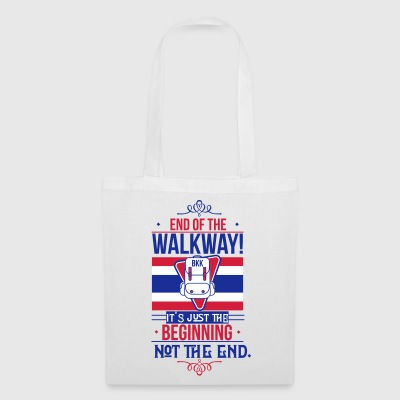 Bangkok Airport End of the Walkway - Tote Bag