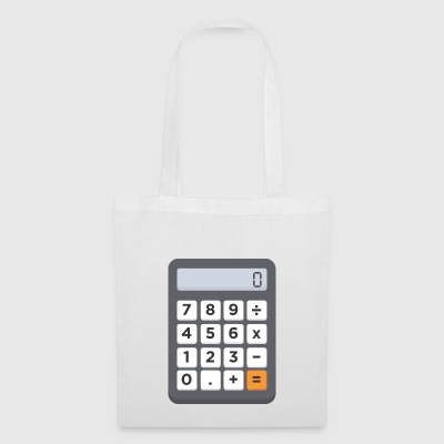 calculatrice de poche - Tote Bag