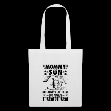 Mommy and son always heart to heart - Tote Bag