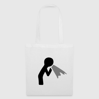 puking figure - Tote Bag