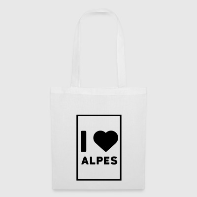I love Alpes - Tote Bag