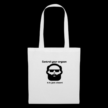 beard - humour - Tote Bag