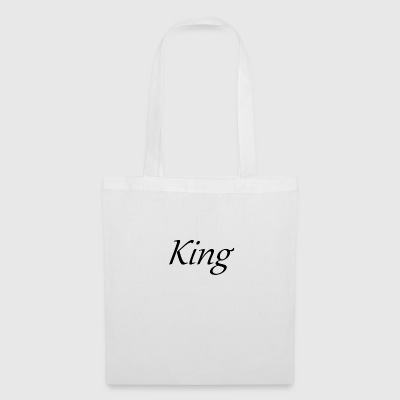 King - Tote Bag